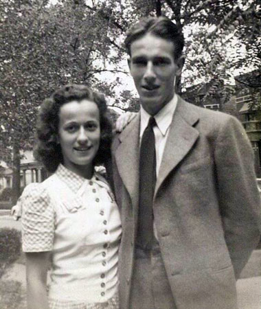 Kenneth Patrick Bolger and sister Muriel