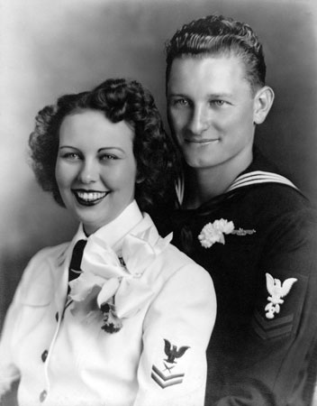 Jerome Paul Fojtik and his wife, Ann