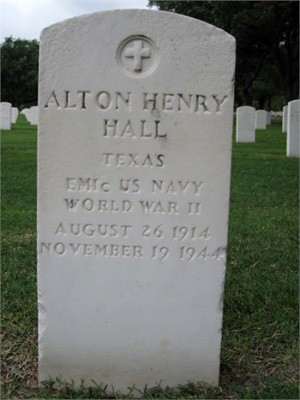 Alton Henry Hall marker