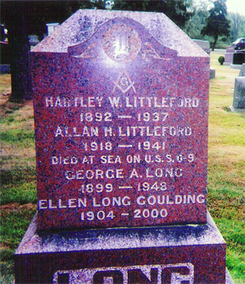 Allan Hartley Littleford marker