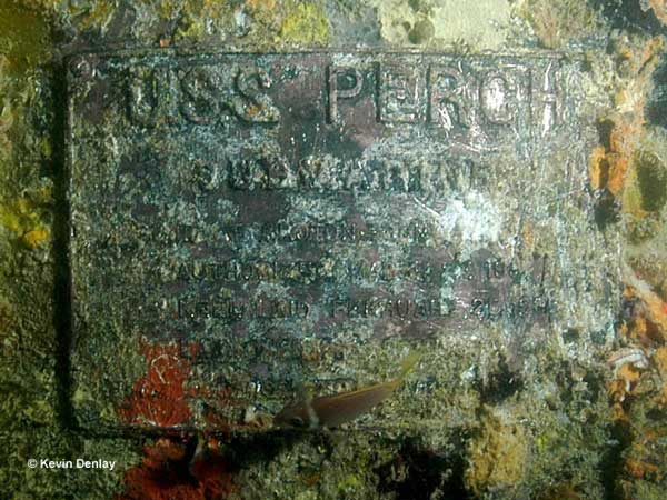 USS Perch Plaque - Photo by Kevin Denlay