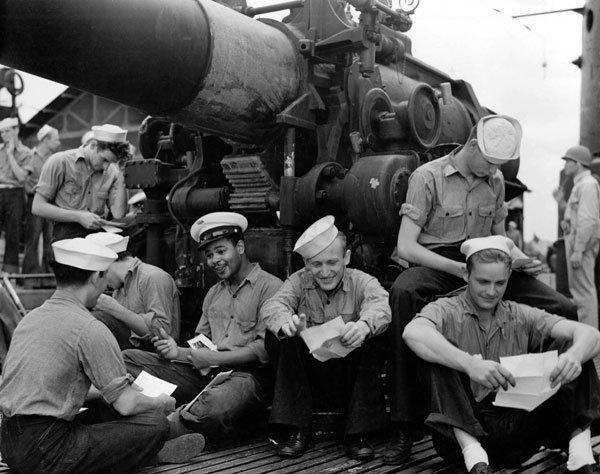 USS Argonaut Letters from Home
