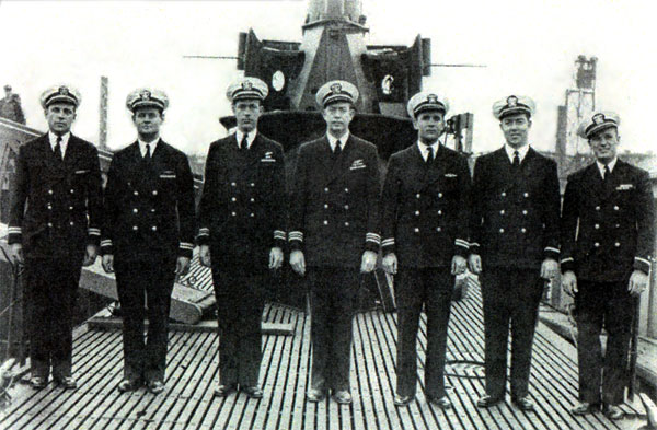 USS Cisco Officers