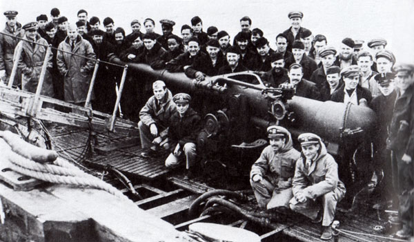 USS S-28 Crew - Dutch Harbor