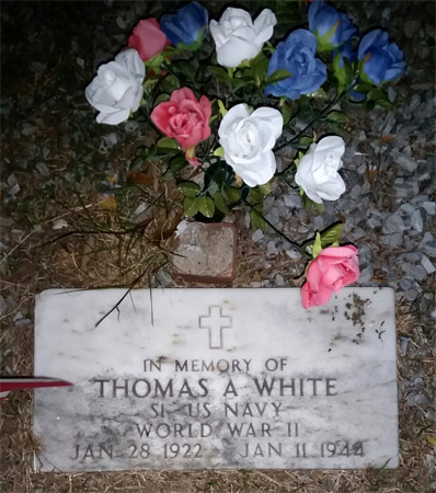 Thomas Allen White marker