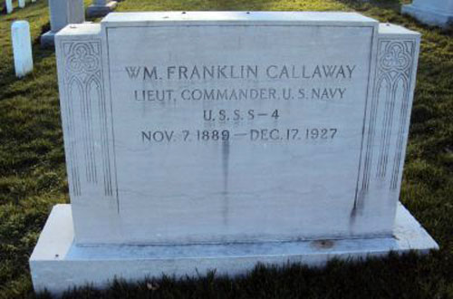 William Franklin Callaway marker