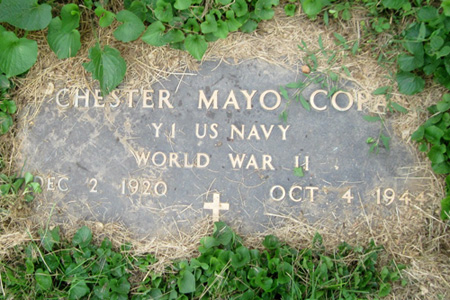 Chester Mayo Copas marker