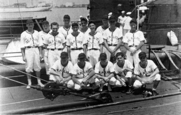 USS Sealion baseball team